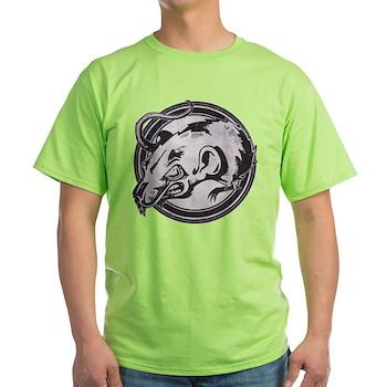 Distressed Wild Rat Stamp Light T-Shirt