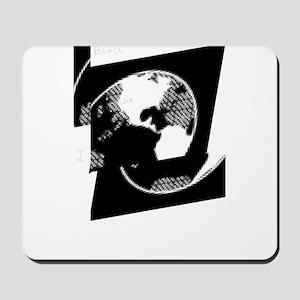 broken world Mousepad