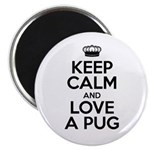 Keep Calm Pug Magnet