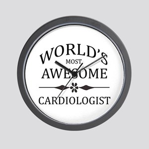World's Most Awesome Cardiologist Wall Clock