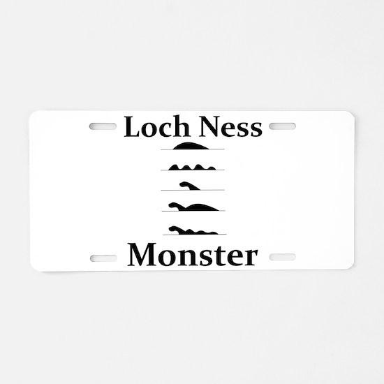 Loch Ness Monster Aluminum License Plate