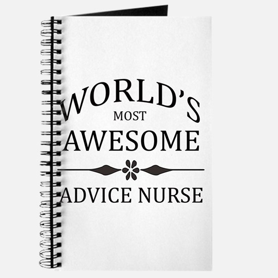 World's Most Awesome Advice Nurse Journal