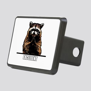 Evil Raccoon Rectangular Hitch Cover