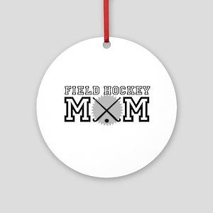 Field Hockey Mom Ornament (Round)