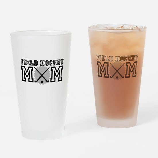 Field Hockey Mom Drinking Glass