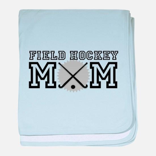 Field Hockey Mom baby blanket