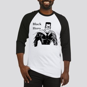Black Hero Baseball Jersey