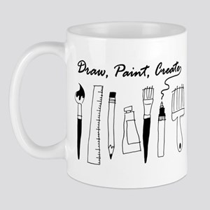 Draw Paint Create Mug