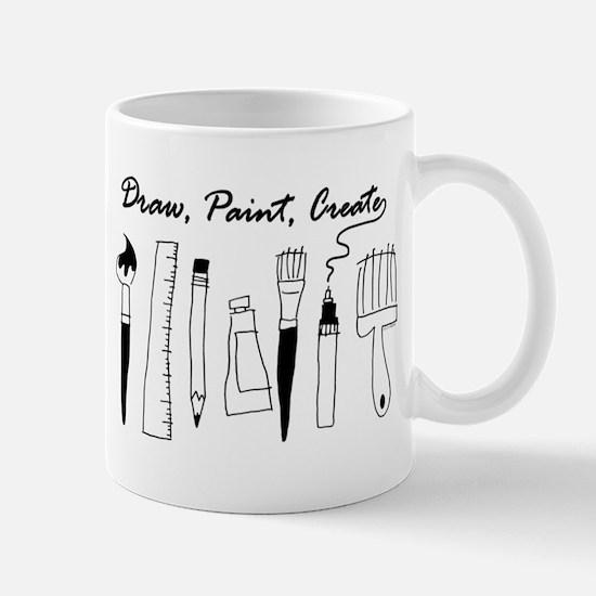 Draw Paint Create Mug