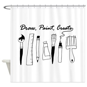 Creative Occupations Shower Curtains