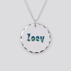 Zoey Under Sea Necklace Circle Charm