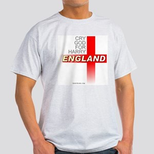 England Sports Team Ash Grey T-Shirt.