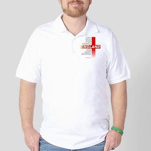 England Sports Team Golf Shirt.