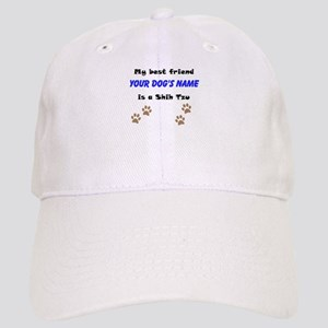 Custom Shih Tzu Best Friend Baseball Cap