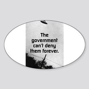 The Government Cant Deny Them Forever Sticker (Ova