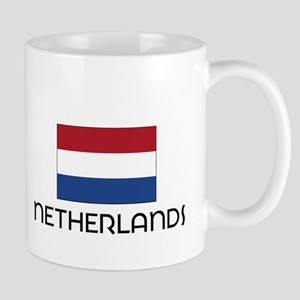 I HEART NETHERLANDS FLAG Mug