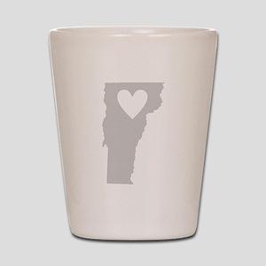 Heart Vermont Shot Glass