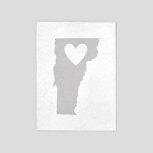 Heart Vermont 5'x7'Area Rug