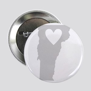 "Heart Vermont 2.25"" Button"