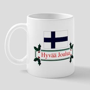 Finland Hyvaa Joulua Mug