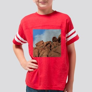 VegasRedRocCal28CP Youth Football Shirt