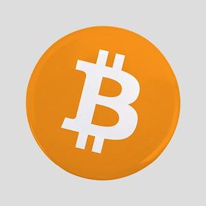 """3.5"""" Bitcoin Button"""