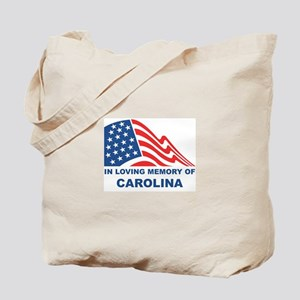Loving Memory of Carolina Tote Bag