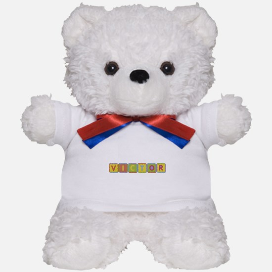 Victor Foam Squares Teddy Bear