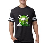 Yakhappy Green Mens Football Shirt