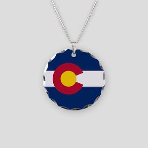 Colorado Flag Necklace