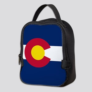 Colorado Flag Neoprene Lunch Bag