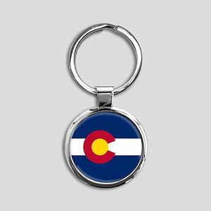 Colorado Flag Keychains
