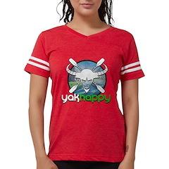 Yakhappy Blue Womens Football Shirt