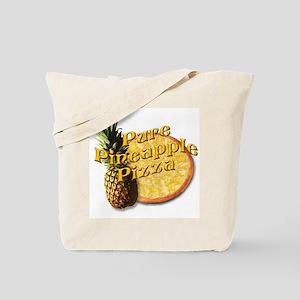 PURE PINEAPPLE PIZZA Tote Bag