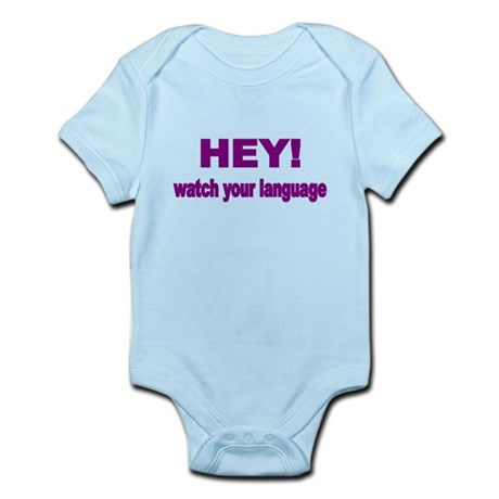 HEY! WATCH YOUR LANGUAGE Body Suit