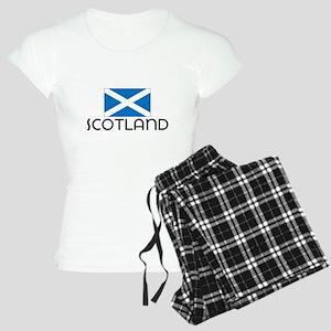 I HEART SCOTLAND FLAG Pajamas