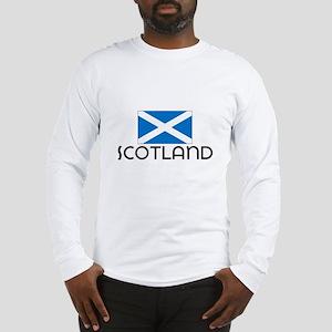 I HEART SCOTLAND FLAG Long Sleeve T-Shirt