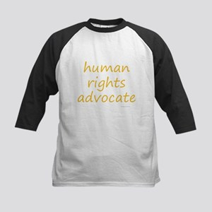 human rights advocate Kids Baseball Jersey