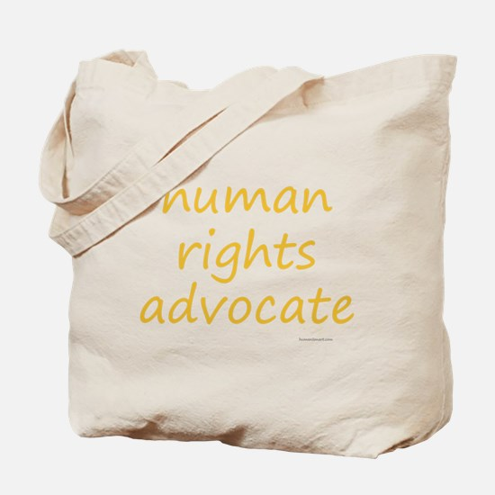 human rights advocate Tote Bag