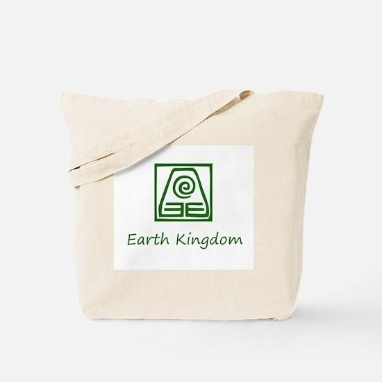Earth Kingdom Symbol Tote Bag