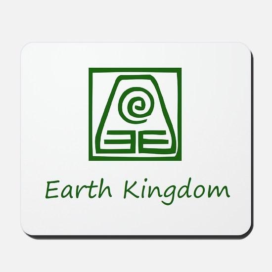 Earth Kingdom Symbol Mousepad