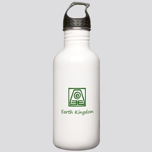 Earth Kingdom Symbol Water Bottle