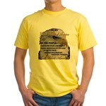 My USA, United States of America Yellow T-Shirt