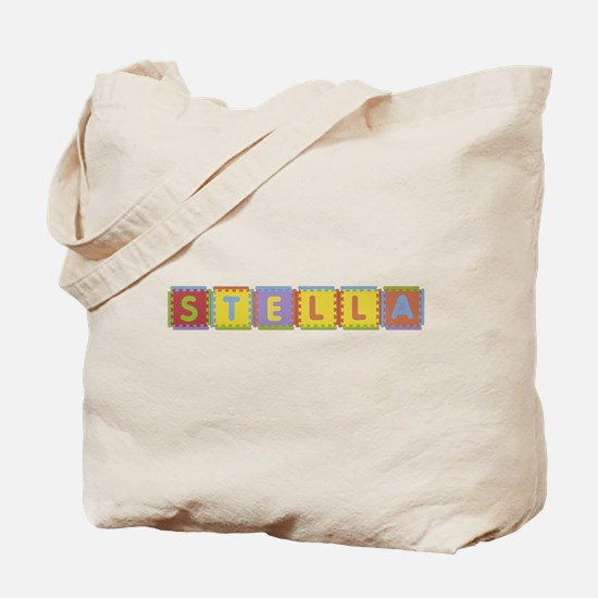 Stella Foam Squares Tote Bag