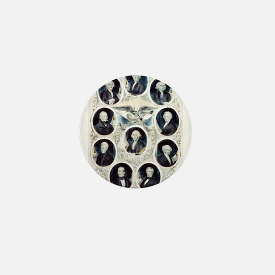 The Presidents of the United States - 1842 Mini Bu