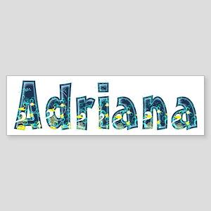 Adriana Under Sea Bumper Sticker