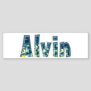 Alvin Under Sea Bumper Sticker