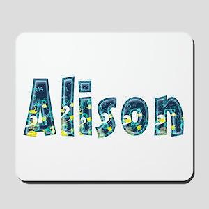 Alison Under Sea Mousepad