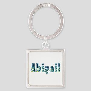 Abigail Under Sea Square Keychain