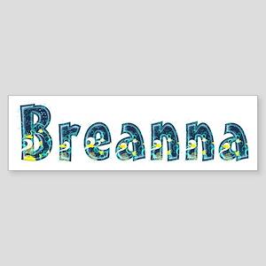 Breanna Under Sea Bumper Sticker
